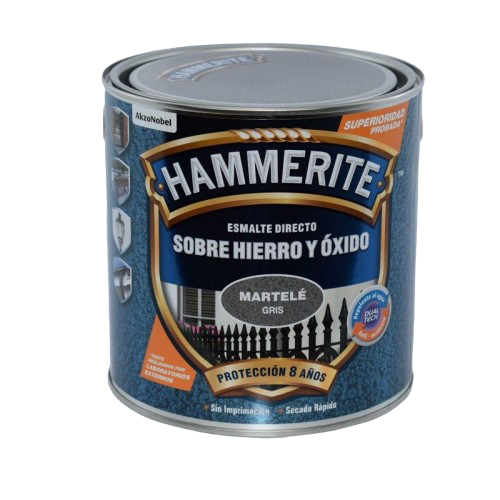 Esmalte Hammerite Martelé color gris   JAYPE MENORCA